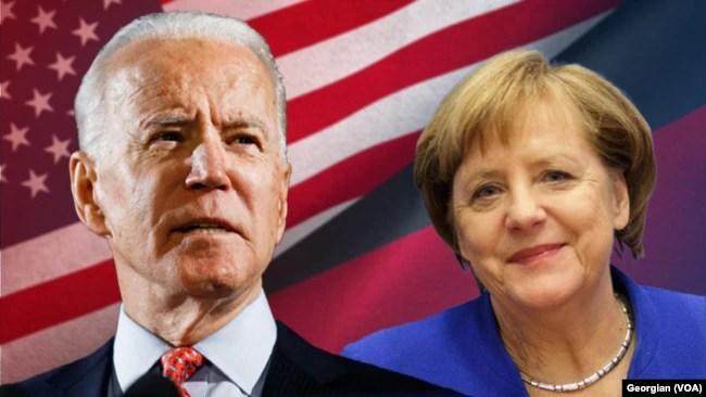 美国总统拜登和德国总理默克尔