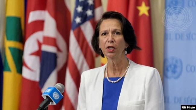资料照片:联合国缅甸事务特使伯格纳。