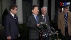 Corea del Sur transmite invitación de Kim Jong Un al presidente Trump