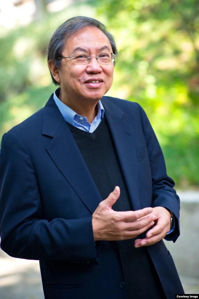 香港城市大学退休政治学教授郑宇硕。(郑宇硕提供)
