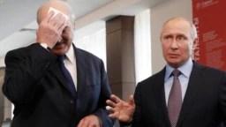 Лукашенко з Володимиром Путіним