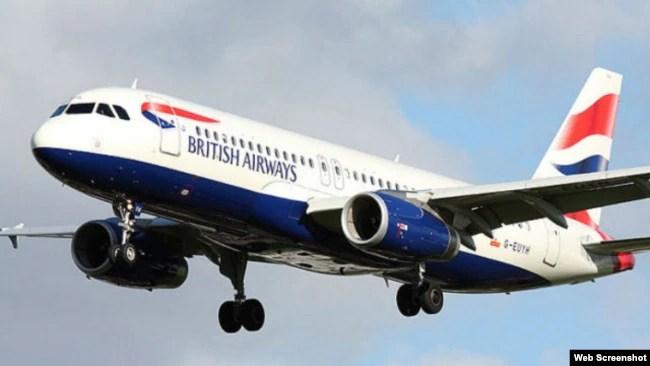 资料照:英国航空公司的客机。