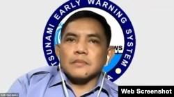 Daryono, Kepala Bidang Mitigasi Gempa bumi dan Tsunami BMKG. (Foto: VOA)