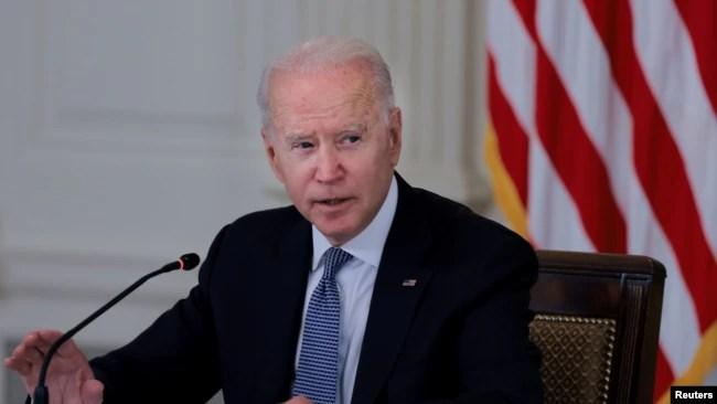 美国总统拜登在白宫。(2021年7月30日)