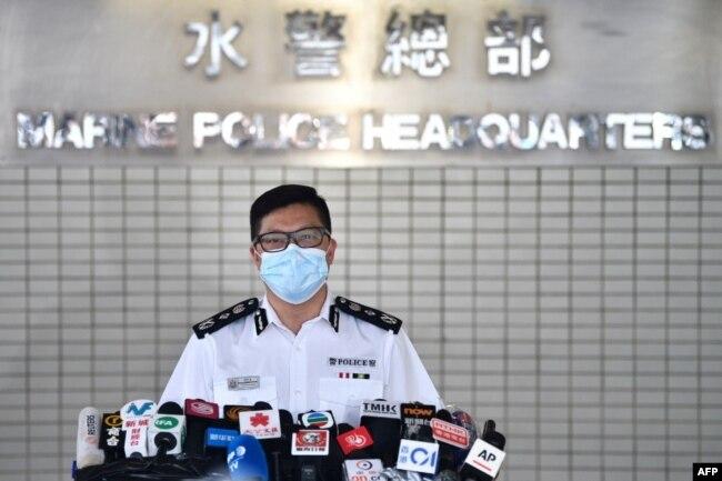 资料照:香港保安局局长邓炳强(2020年8月27日)