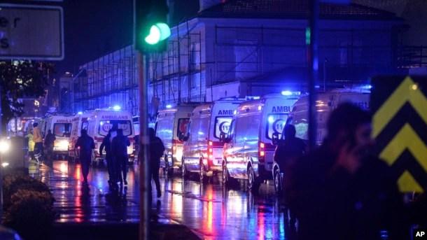 Istanbul Nightclub New Year's Eve Terror Attack