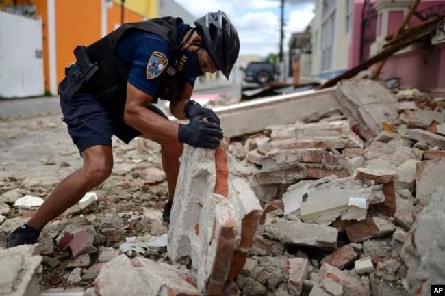 Puerto Rico ha sido remecido este año por varios terremotos que han dejado en vilo a su población.