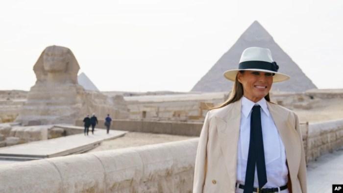 Melania Trump in Egypt