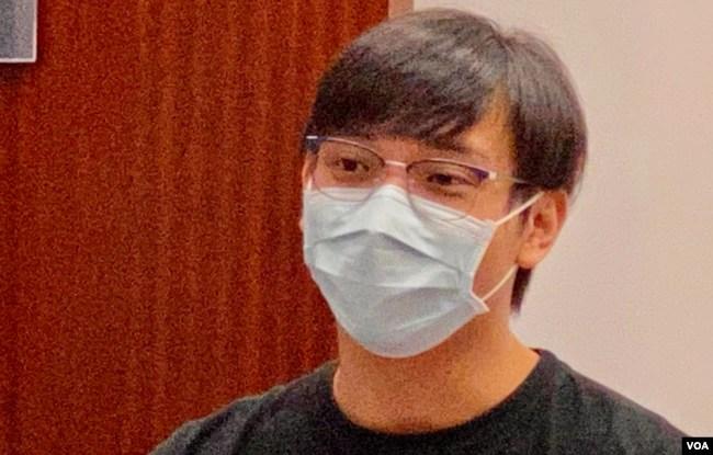 7-21事件遇袭受伤的厨师苏先生表示,首宗白衣人暴动案判刑太轻 (美国之音/汤惠芸)