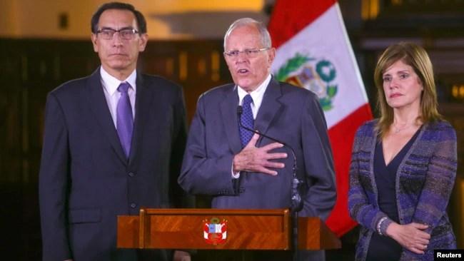 Presidente de Perú se salva de ser destituido 23/Dic/2017 Internacional