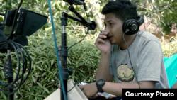 Wahyu Agung Prasetyo tak menyangka sambutan masyarakat yang membludak akan film pendek garapannya (courtesy: Ravacana Films).