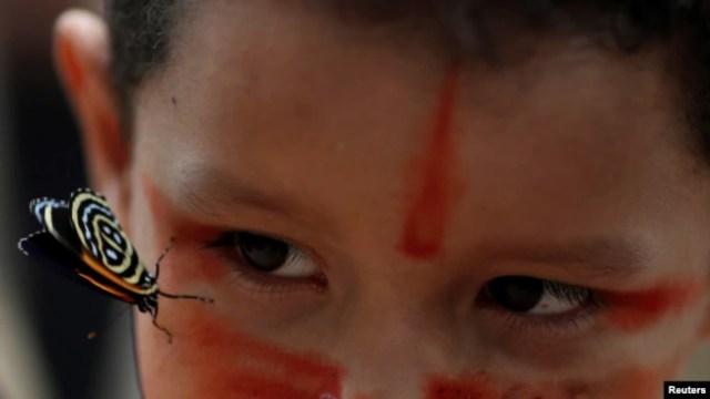 Los rostros de la tragedia humana cuando se incendia el Amazonas