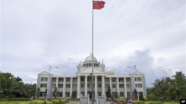Thành phố Tam Sa được thiết lập trên một hòn đảo mà Việt Nam và Ðài Loan cùng tuyên bố chủ quyền.
