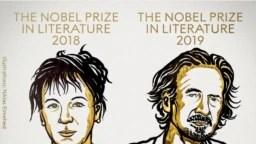 Los ganadores del premio Nobel de Literatura fueron presentados el jueves 10 de octubre de 2019, tras una pausa de un año de la Academia Sueca para otorgar este galardón.