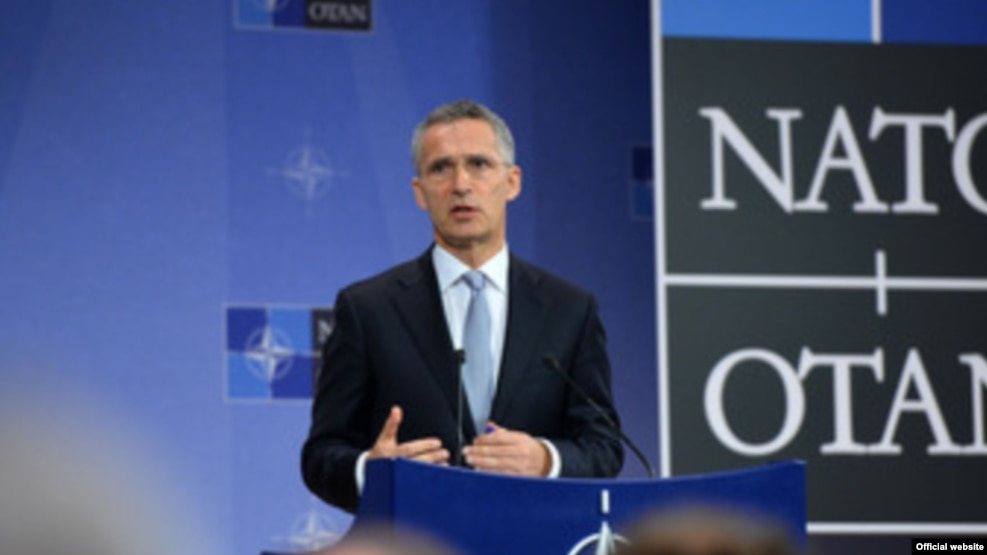 Tổng thư ký NATO Jens Stoltenberg.