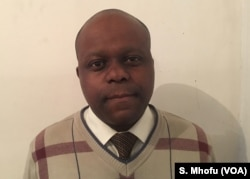 Economist Prosper Chitambara of the Labor and Economic Development Research Institute of Zimbabwe
