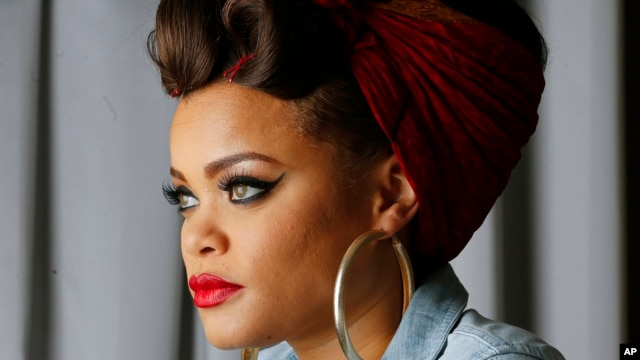 Recording artist Andra Day poses for a photo in Atlanta, Jan. 24, 2016.