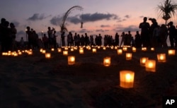 Peringatan 10 tahun serangan teroris, di Kuta, Bali, Indonesia, Jumat, 12 Oktober 2012. (Foto: dok).