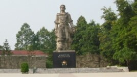 Khu tượng đài Quang Trung tại Gò Đống Đa.