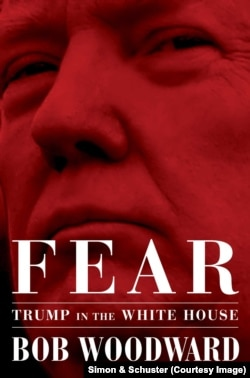 """Cover of """"Fear: Trump in the White House, by Bob Woodward"""