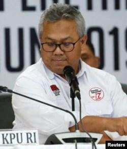 Ketua KPU, Arief Budiman. (Foto: Reuters)