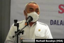 Gubernur Kalimantan Timur, Isran Noor. (Foto: VOA/Nurhadi)