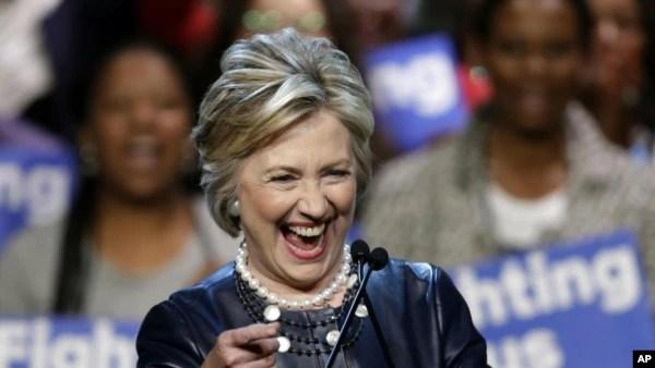 Hillary Clinton, Mgombea uteuzi wa Urais wa Democrat