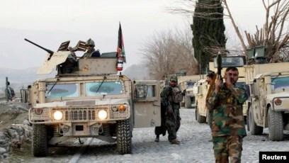 افغان فورسز کی ازسرِ نو تشکیلِ 2002 میں کی گئی۔