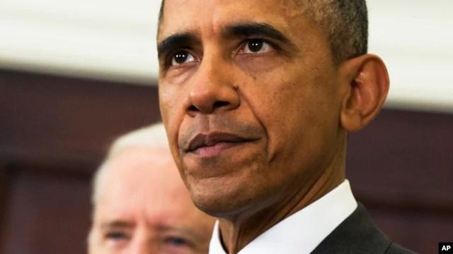 Tổng thống Obama phát biểu tại Tòa Bạch Ốc, ngày 11/2/2015.