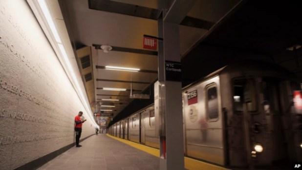 Stasiun subway Cortlandt WTC akhirnya resmi dibuka kembali Sabtu (08/09).