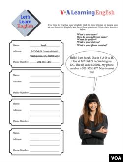 Lesson 3 Activity Sheet