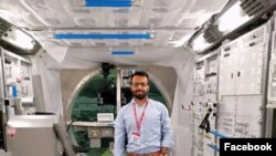 Dr. Yar Jan Abdul Samad's main job is to create things that are useful for space technology. (File photo)