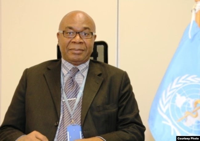 The World Health Organization's representative to Ethiopia Dr Akpaka Kalu (undated photo courtesy of WHO)