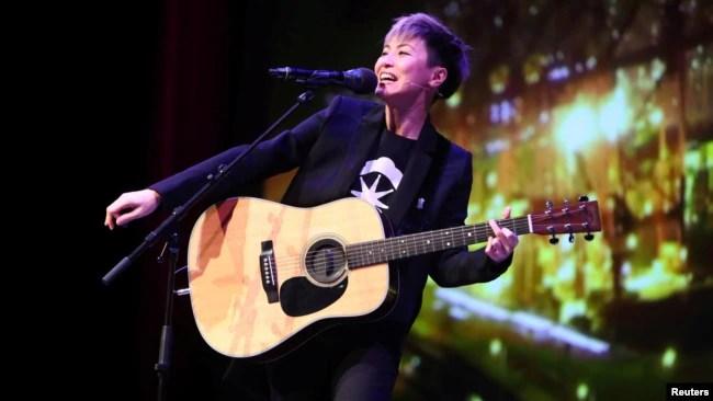 香港歌手何韵诗