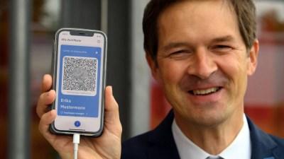 "Jerman Perkenalkan Sertifikat Vaksinasi ""CovPass"" Digital"