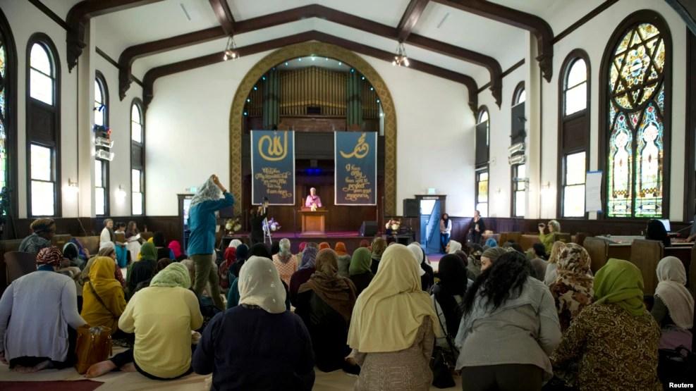 Một đền thờ Hồi giáo ở Los Angeles, California.