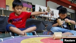 Permainan Anak Anak Jadul Mulai Diminati Lagi
