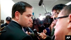 Rubio era el último escollo para Tillerson en su camino para dirigir la diplomacia estadounidense.