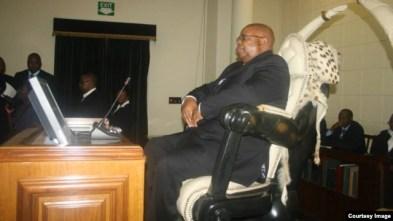 Speaker of Parliament of Zimbabwe Jacob Mudenda.