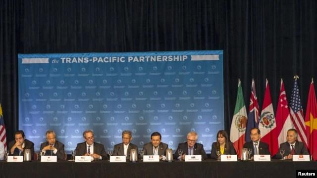 Mỹ và 11 quốc gia ven Thái Bình Dương khác đã đạt được thoả thuận chung cuộc về một hiệp định thương mại sẽ hạ thấp thuế quan và giảm thiểu những rào cản mậu dịch cho gần phân nửa nền kinh tế thế giới.