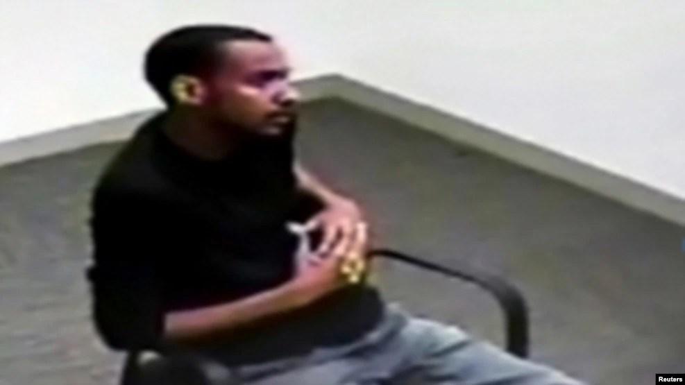 Muhanad Badawi, 25 tuổi, trong cuộc thẩm vấn với FBI sau khi bị bắt, ngày 21/5/2015.