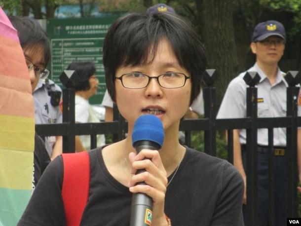 台灣人權促進會秘書長邱伊翎。