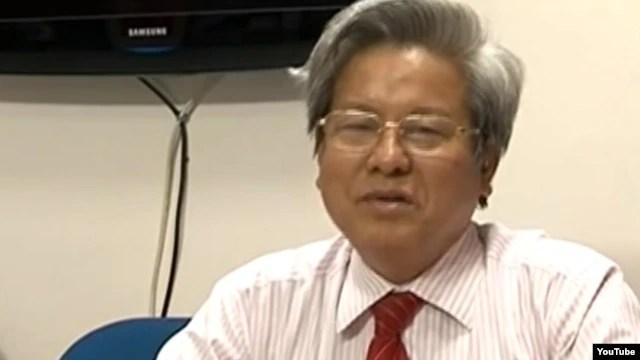 Ông Kim Quốc Hoa, cựu Tổng biên tập báo Người Cao Tuổi.
