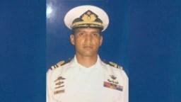 El capitán de corbeta venezolano, Rafael Acosta, murió estando preso por órdenes del gobierno en disputa de Nicolás Maduro. (Foto tomada del Twitter de su esposa Waleswka Pérez).