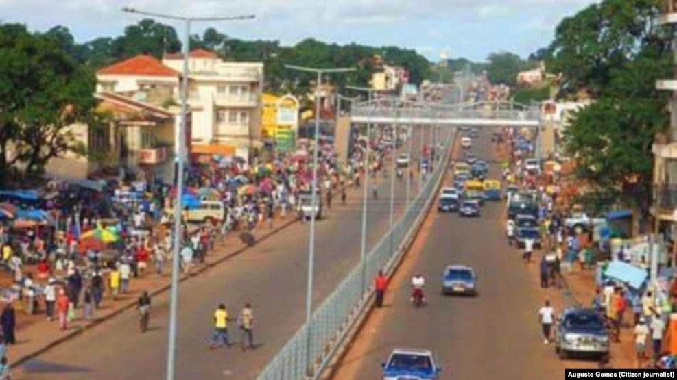 Cidade de Bissau, capital da Guiné-Bissau