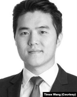 首席律师王代时(Times Wang) (照片由本人提供)