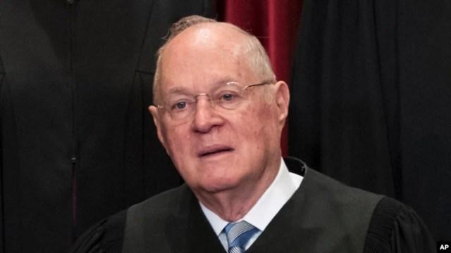 El juez de la Corte Suprema de EE.UU. Anthony M. Kennedy anunció su retiro del máximo tribunal el miércoles, 27 de junio de 2018.