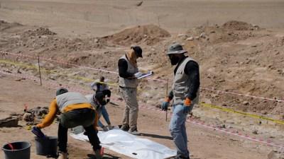 Irak Temukan Lagi 123 Kerangka di Kuburan Massal ISIS