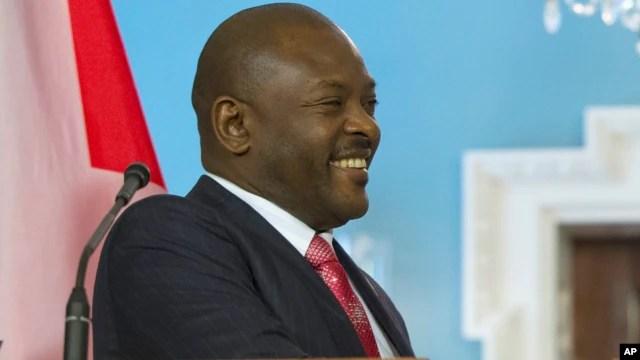 Le président burundais, Pierre Nkuruziza