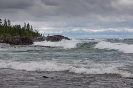 Sawpit Bay, Lake Superior